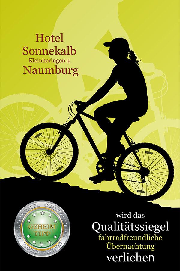Qualitätssiegel Fahrradfreundliche Übernachtung