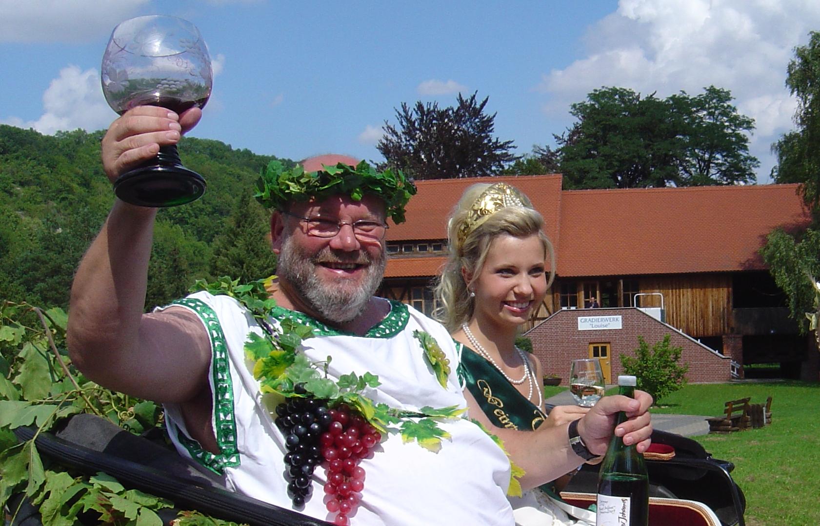 Mehr Informationen zu: Federweißenfest im Weingutshof